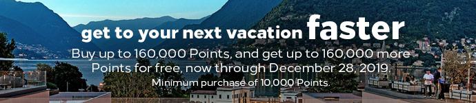 Hilton Honors punten met 100% bonus