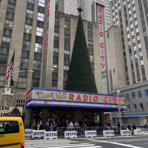 Rockettes Radio City Hall