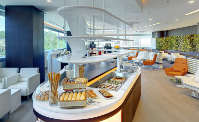 skyteam, lounge, istanbul, buffet