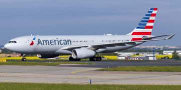 American, A330