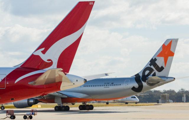 Jetstar Asia en Jetstar Airways zijn onderdeel van Qantas (Bron: Jetstar Airways)