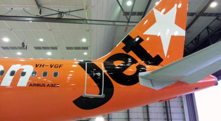 Jetstar special livery