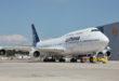 Boeing 747-400 van Lufthansa op de luchthaven van Frankfurt (Bron: British Airways)