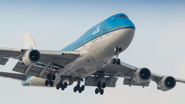 KLM Boeing 747 City of Seoul