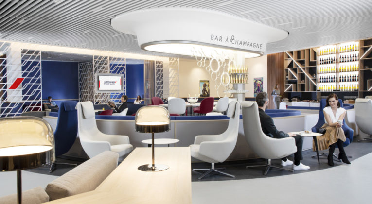Nieuwe lounge op Paris Orly 3 geopend door Air France
