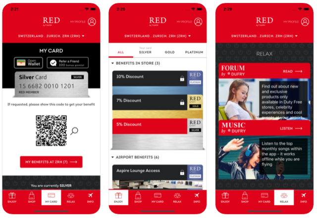 _RED by Dufry on the App Store
