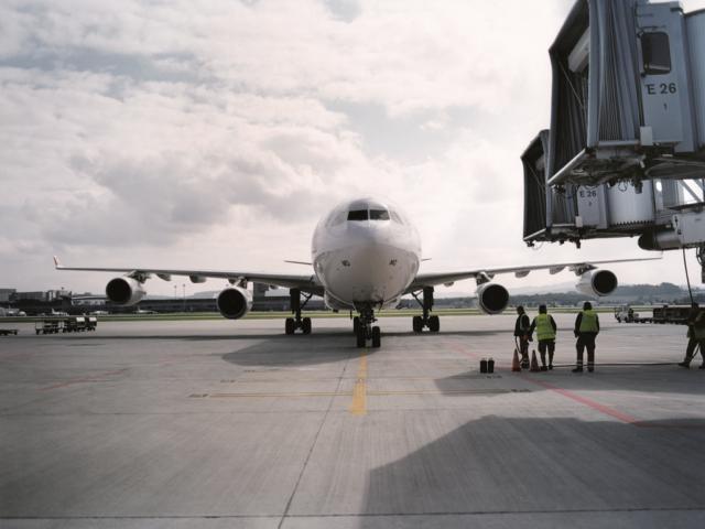 De Airbus A340 van SWISS (Bron: SWISS)