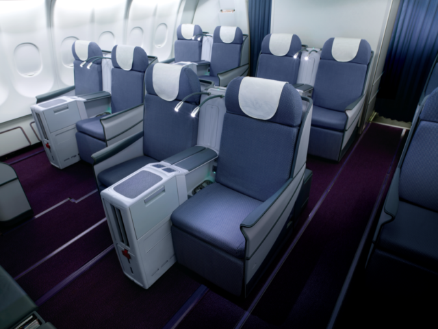China Southern, A330, Business Class