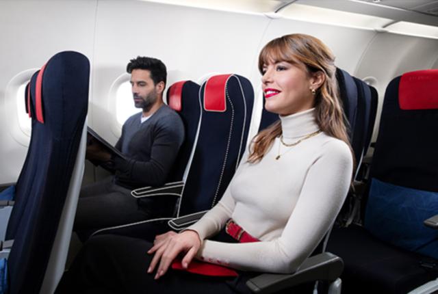 Air France, business class, binnenlandse vluchten