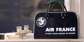 Vintage bowling Air France