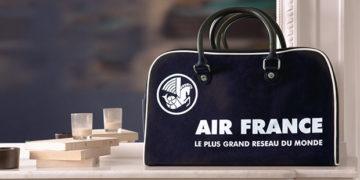 Vintage bowling Air France