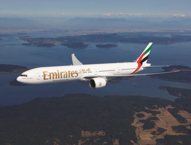 Boeing 777 van Emirates (Bron: Emirates)