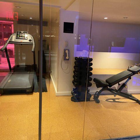 Gym hotel