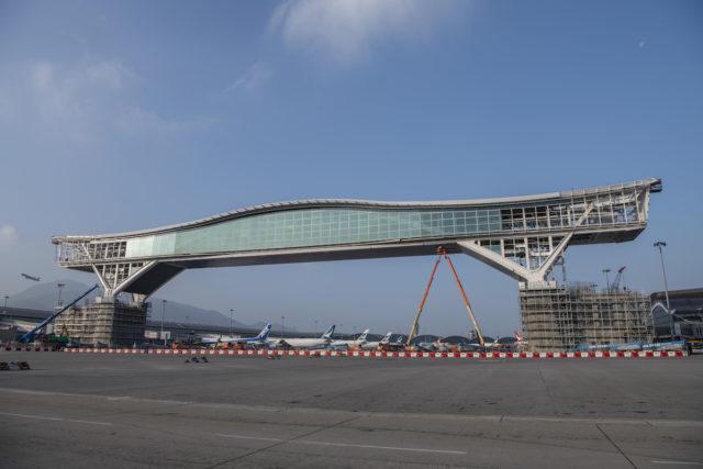 Sky Bridge Hong Kong Airport