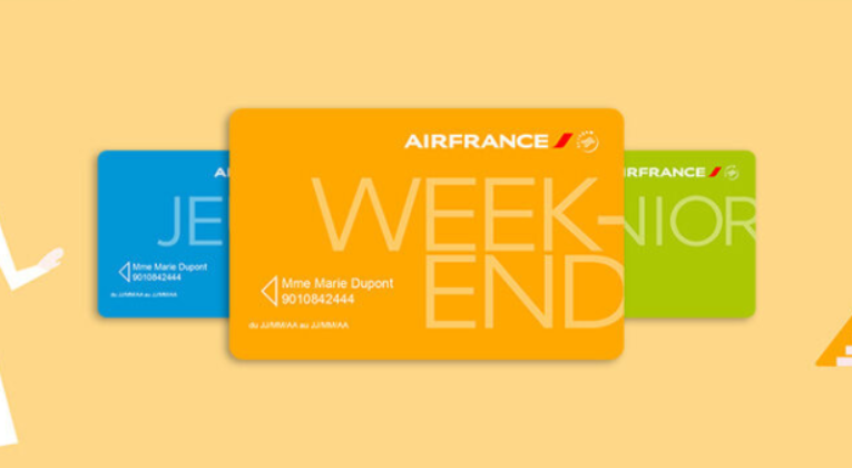 Air France Discount Passes