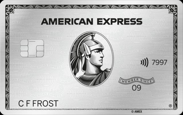 De nieuwe American Express Platinum kaart krijgt dezelfde vormgeving als in de VS (Bron: American Express)