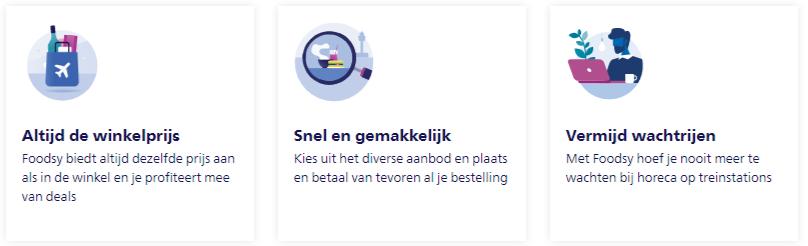 Foodsy App Schiphol