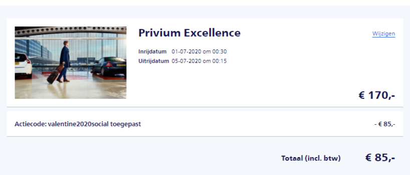Privium Excellence Korting