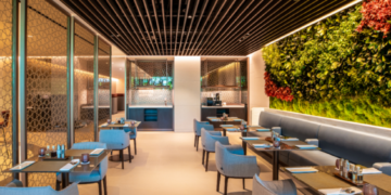 Qatar Airways Premium Lounge Singapore