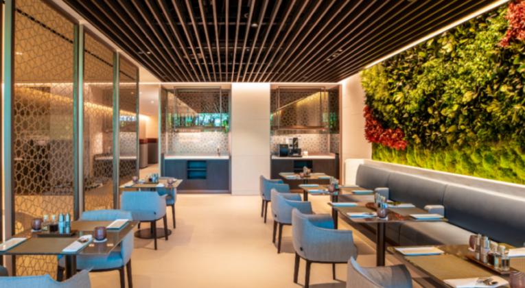 Qatar Airways Premium Lounge Singapore