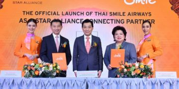 Thai Smile Connecting Partner Star Alliance
