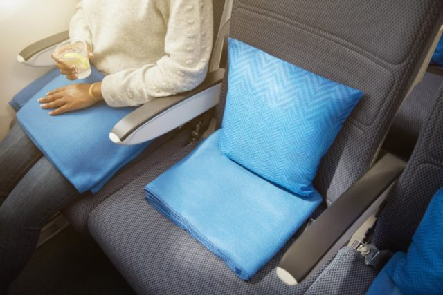 Nieuwe items World Traveller cabine British Airways