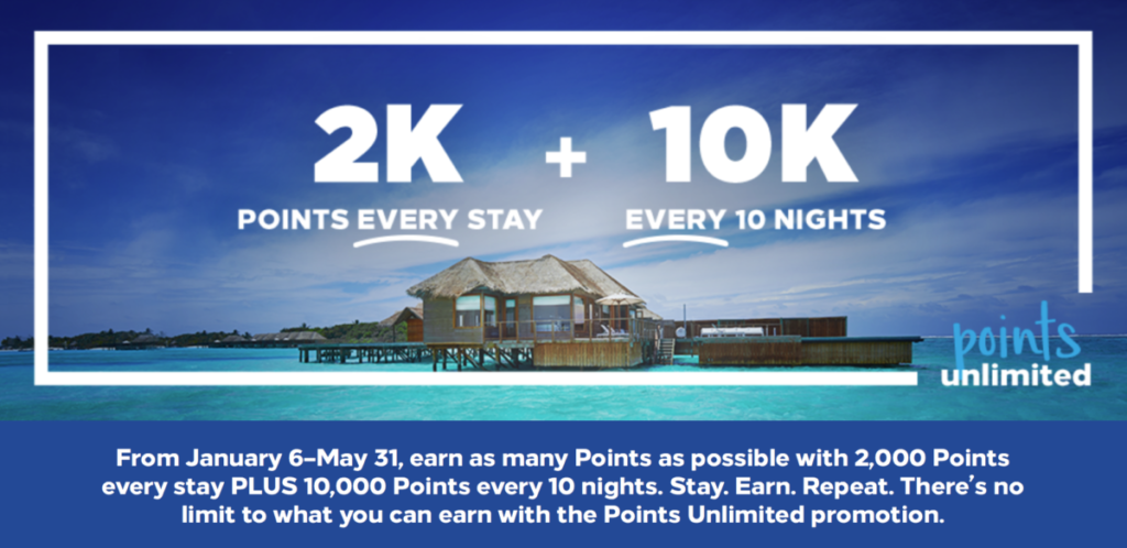 Points Unlimited Promo Extended