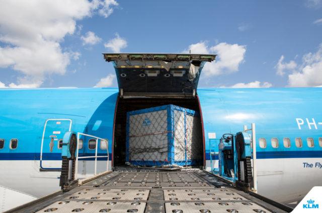 KLM B747-combi