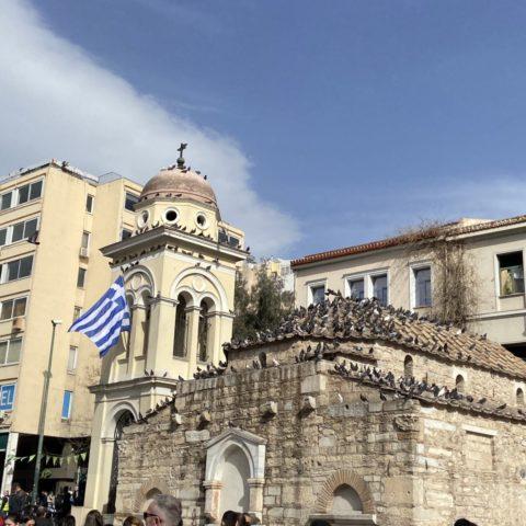 Monastiraki plein Athene
