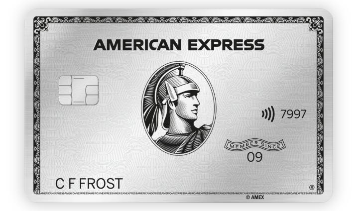 Platinum Kaart American Express