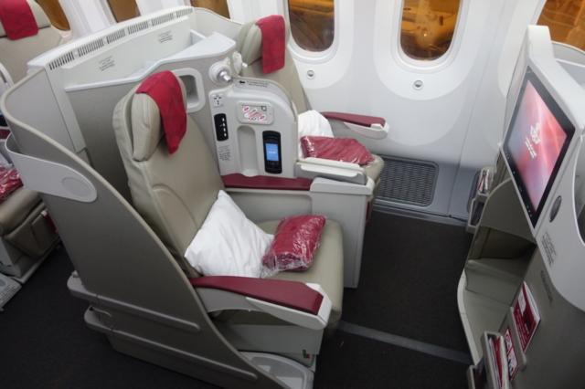 Royal Air Maroc, Boeing 787-8 Business Class