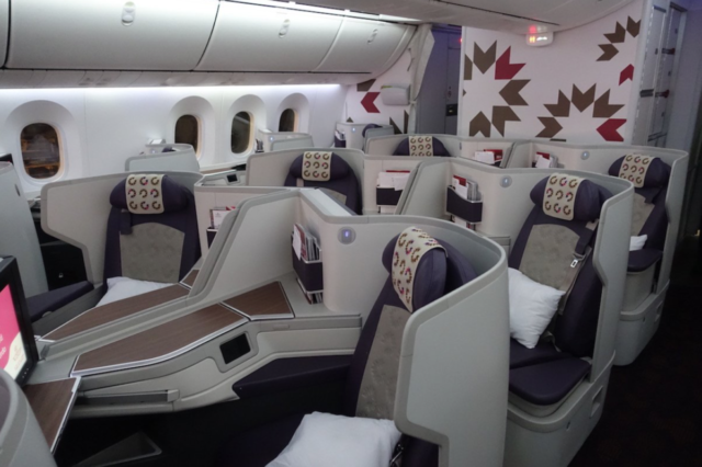 Royal Air Maroc, Boeing 787-9 Business Class