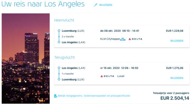 InsideDeals - Voordelig met KLM in Business Class naar Noord-Amerika