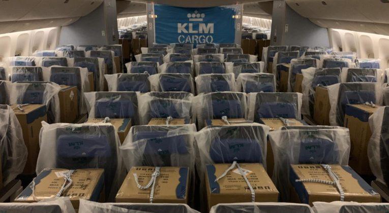 KLM Cargo-in-Cabin