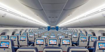 KLM Economy Cabine