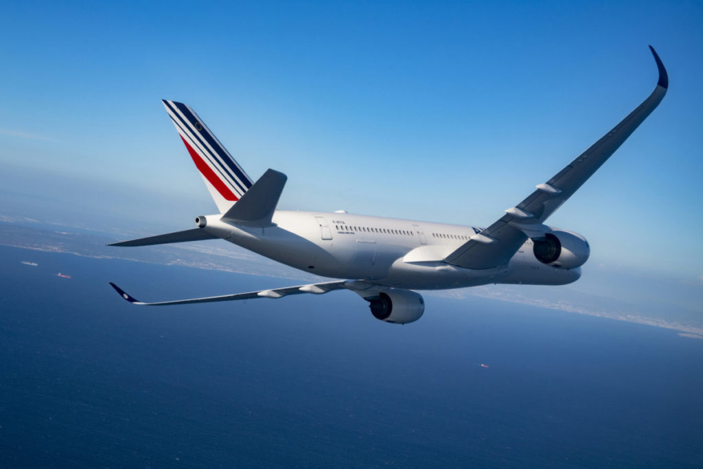 Airbus A350 van Air France (Bron: Air France)