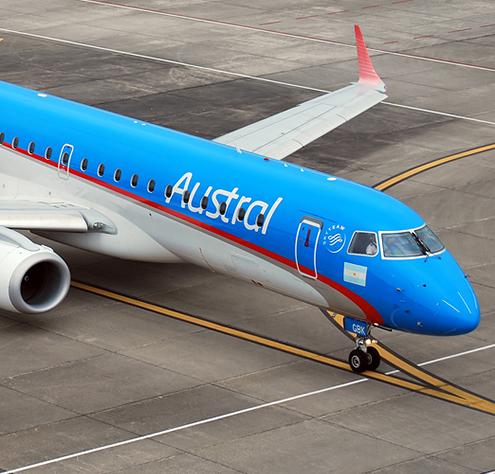 Verlening sluiting Argentinië zorgt voor fusie Aerolineas Argentinas & Austral