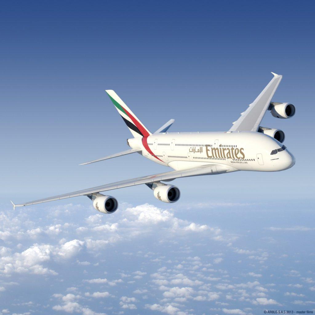 Emirates zwaait eerste A380 uit
