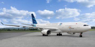 Airbus A330-300 van Garuda Indonesia (Bron: Garuda Indonesia / Facebook)