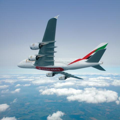 Airbus A380 van Emirates (Bron: Emirates)