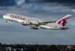 A380 van Qatar Airways (Bron: Wikimedia Commons)