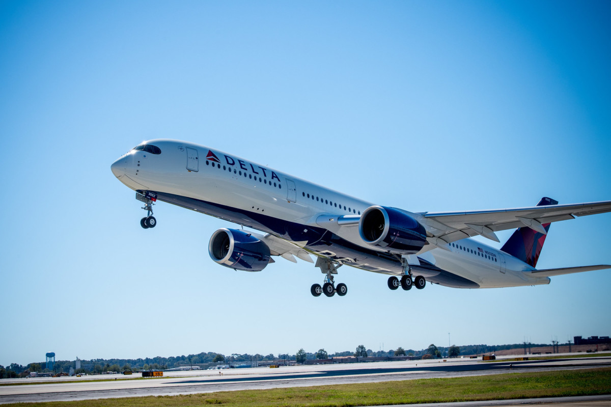 Delta Airbus A350 (Source: Delta)
