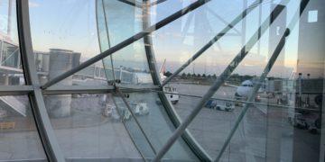 Op bezoek in Salon Lounge Air France CDG 2F tijdens Corona
