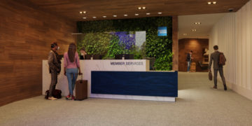 American Express Lounge Covid