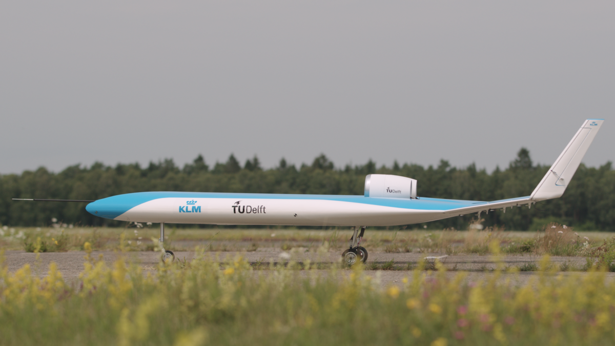 KLM TU Delft Flying-V