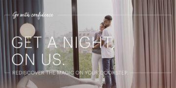 Boek je overnachting bij IHG met 3e nacht gratis