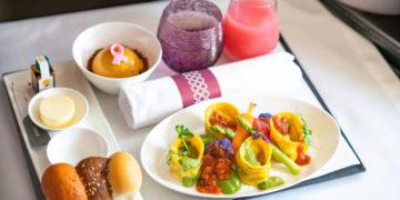 Qatar Airways Vegan Maaltijden