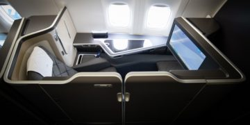 British Airways First Class B777-300