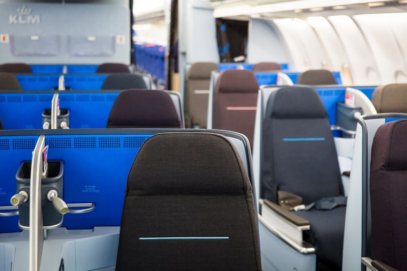 KLM World Business Class A330