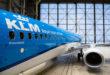 Boeing 737 van KLM staat in de hangar te Schiphol (Bron: KLM)